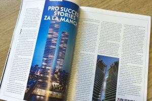Sipral's British success story in October issue of Forbes Česko magazine - 1