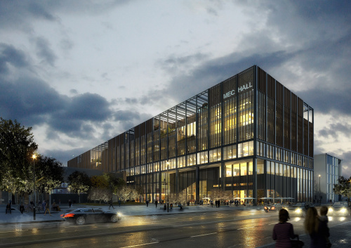 Image: Czech Sipral to supply the MEC Hall in Manchester with unitised façade