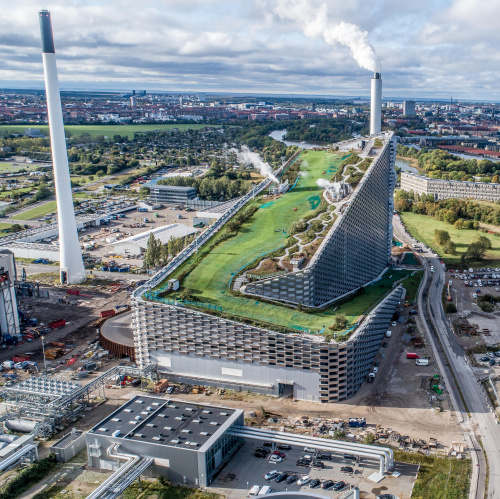 Image: The architectural studio BIG presented the film Making a Mountain about the Amager Bakke waste-to-energy plant in Copenhagen