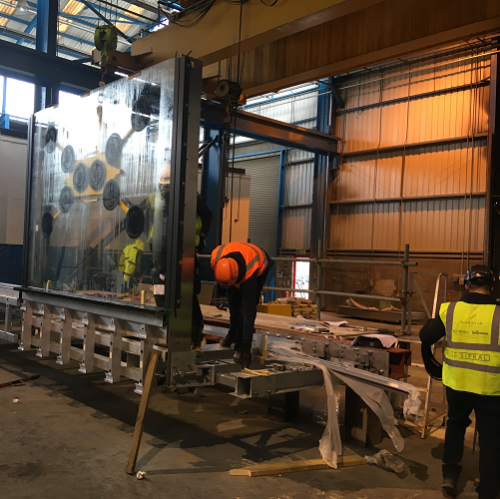 Image: Wardian London Penthouse All-Glazed Balustrades Successfully Pass Tests