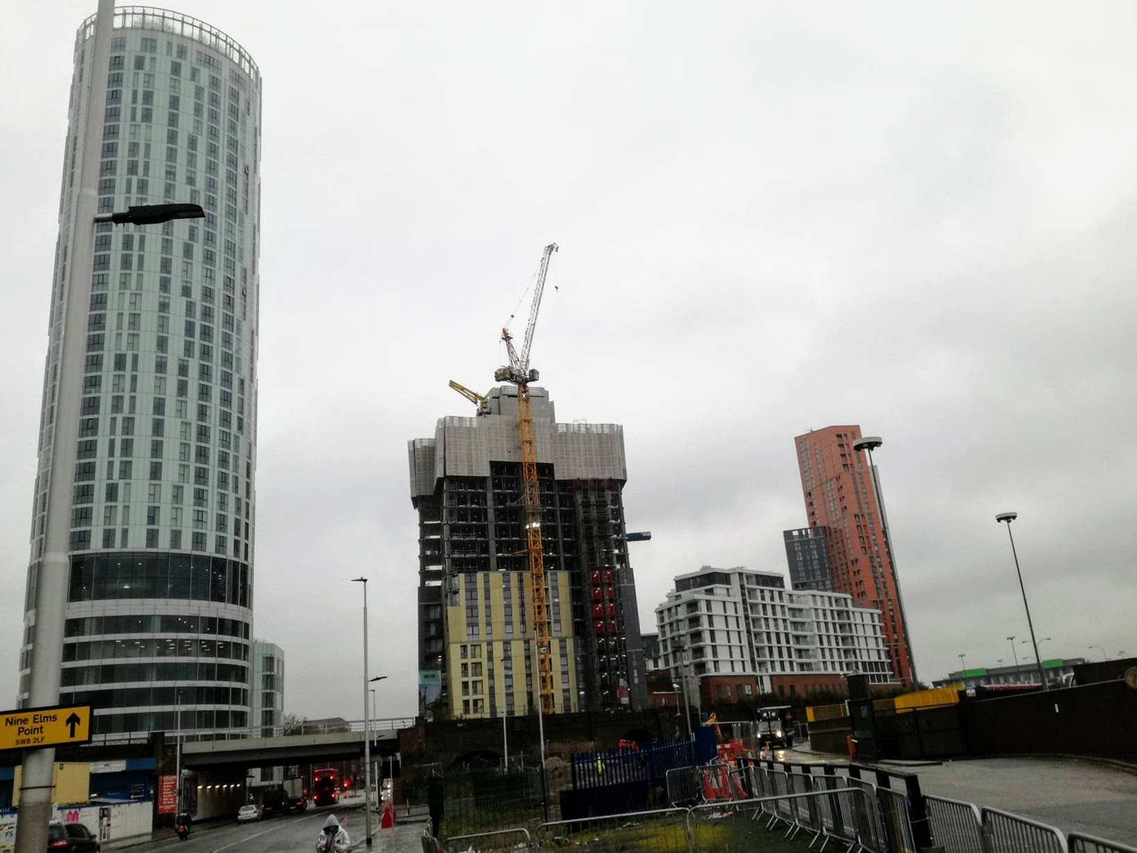 Nine Elms, London is changing its appearance with contribution of Sipral